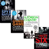 Charles Cumming Charles Cumming Collection 4 Books Set, (The Trinity Six, A Spy by Nature, The Spanish Game and A Foreign Country