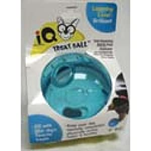Ourpets DT-10504 Smarter Toys IQ Treat Ball , 5 Inches , Colors may vary
