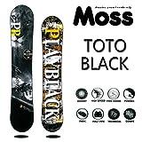 15-16 MOSS モス スノーボード TOTO BLACK トトブラック ノーマルフレックス (155)