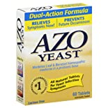AZO Yeast, Dual-Action Formula, Tablets 60 tablets