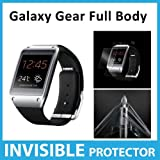 Samsung Galaxy Gear Full Body INVISIBLE Screen Protector (Front Face Shield) Military Grade Protection Exclusively from ACE CASE