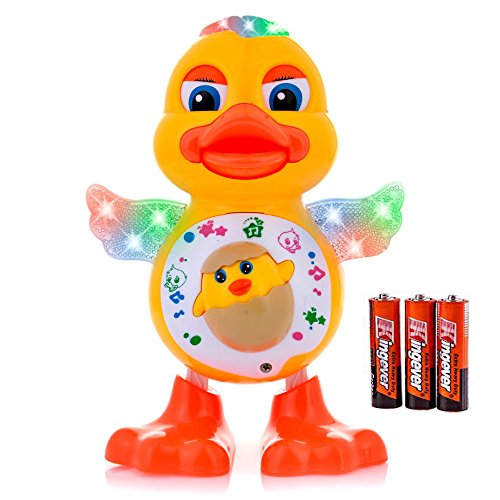 Musical-Dancing-Toys-Duck-Lights-Action-Kids-Music-Toys-for-Kids-Batteries-Included