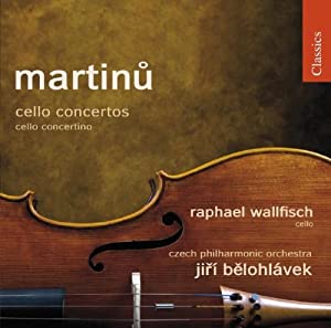 Martinu: Cellokonzerte/ Concertino für Cello