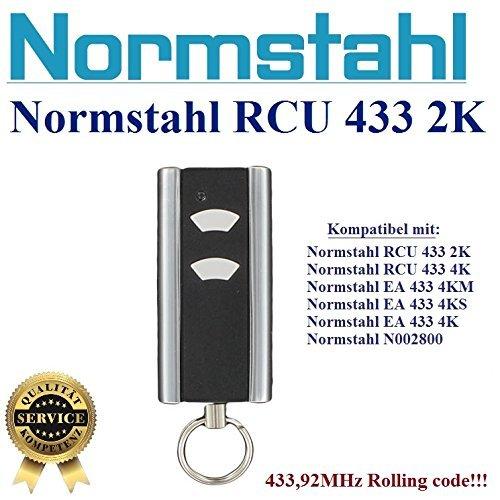 NORMSTAHL RCU433 2K handsender 2-kanal 433.92Mhz
