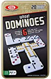 Ideal Whoa! Double 6 Color Dot Dominoes