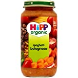 HiPP Organic Stage 3 From 10 Months Growing up Meal Spaghetti Bolognese 250 g (Pack of 6)