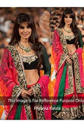 Designer Rose Pink PYORE Bollywood Replica Lehenga Choli.