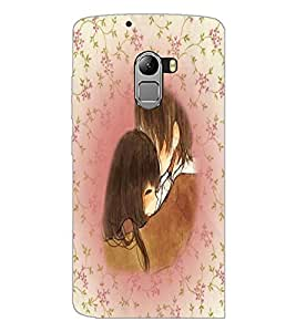 PrintDhaba Couple D-5447 Back Case Cover for LENOVO K4 NOTE A7010 (Multi-Coloured)