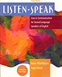 img - for Listenspeak: Ease in Communication for Second Language Speakers of English by Irene Alterbaum (2003-01-03) book / textbook / text book