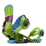 Ride Rodeo Snowboard Bindings, Green - Large
