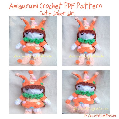 Adorable Joker Amigurumi Crochet Pattern