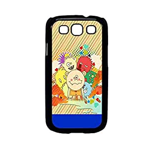 Vibhar printed case back cover for Samsung Galaxy J1 FunnyKids