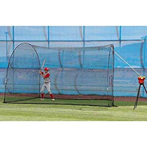 Buy Heater Trend Sports Crusher Curve Pitching Machine and HomeRun Batting Cage by Trend Sports