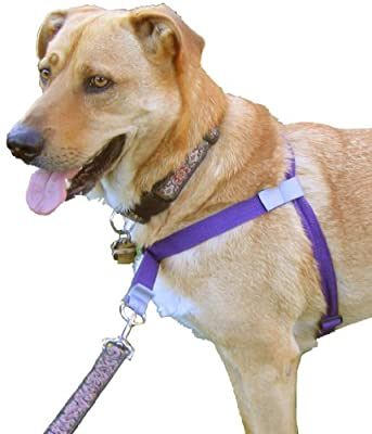 No-Choke No-Pull Front-Leading Dog Harnesses, Original Edition, Sizes From 5 to 250 Pounds, 8 Colors