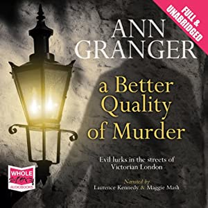 A Better Quality of Murder Audiobook