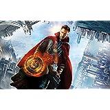 Doctor Strange 2016 Movie 4K 5K ON FINE ART PAPER HD QUALITY WALLPAPER POSTER