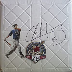 Chase Headley Autographed Signed Custom San Diego Padres Photo 40th Anniversary Logo... by Southwestconnection-Memorabilia