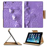 Luxlady Premium Apple iPad Air (Fifth Generation) Generation Flip Case abstract digital background IMAGE 19493470 Pu Leather Card Holder Carrying