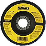 DEWALT DW8308 4-1/2-Inches x 7/8-Inches 60 Grit Zirconia Angle Grinder Flap Disc