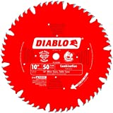 Freud D1050X Diablo 10-Inch 50-tooth ATB Combination Saw Blade with 5/8-Inch Arbor and PermaShield Coating