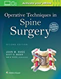 img - for Operative Techniques in Spine Surgery book / textbook / text book