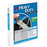 Avery Heavy-Duty View Binder with 1 Inch  One Touch EZD Ring, White, 1 Binder (79799)