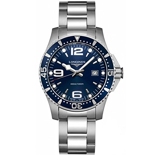 longines-hydroconquest-mens-quartz-watch-with-blue-dial-analogue-display-and-silver-stainless-steel-