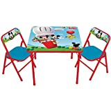 Mickey Mouse Playground Pals Activity Table and Chair Set
