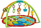 "EMILYSTORES Princess Prince Baby Activity Play Gym Mats 30""x30"""