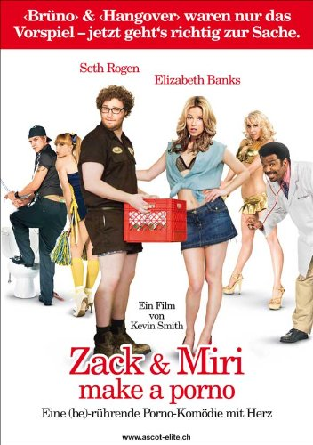 Zack and Miri Make A Porno 11 x 17 Movie Poster - Swiss Style B