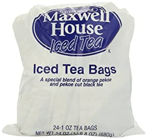 Maxwell House Iced Tea, 1-Ounce Filter Paks (Pack of 96)