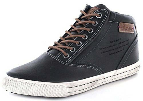 soliver-5-5-15240-27-002-chaussons-montants-homme-noir-black-antic-43-eu