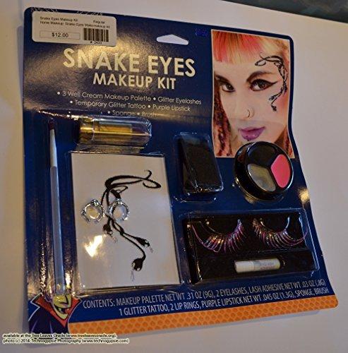 Snake Eyes Makeup Kit