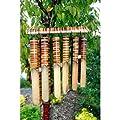 K-Ancient Bambus-Windspiel, groß, 12 Stück von Wisdom-Ancient bei Gartenmöbel von Du und Dein Garten
