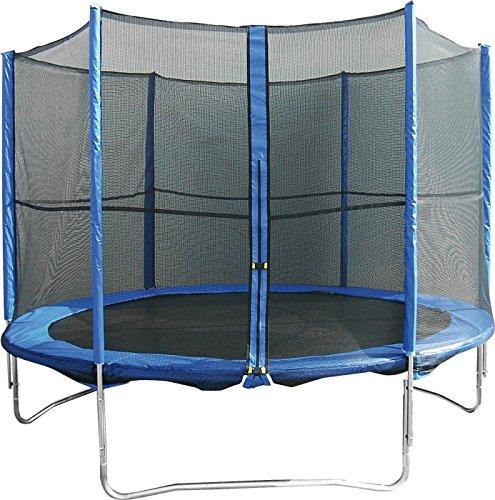 """Trampolin """"Mary"""" Das Trampolin Mary hat drei Füße und einen Durchmesser von ca. 244 cm bei einer Höhe von 68 cm. Belastbar bis 150 kg (inklusive Netz) günstig kaufen"""