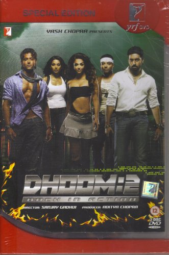 Dhoom 2 : Back In Action (2-DVD Set / Special Edition / English Subtitles / Second Disc Includes Special Features) (Dhoom 2 compare prices)