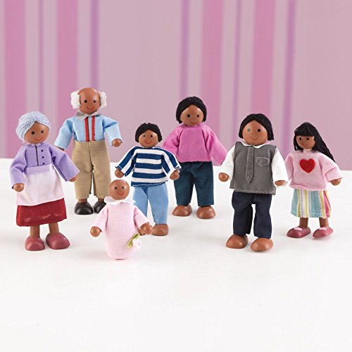 Doll-Family-of-7-African-American-Variations