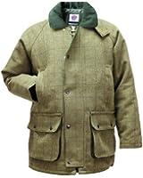 Mens Derby Tweed Breathable Hunting Shooting Jacket Coat Kids Waterproof Wool by WWK / WorkWear King