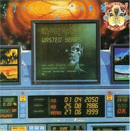 Iron Maiden - wasted years-stranger in a str - Zortam Music