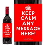 Personalised Bottle of Merlot. Red Wi...