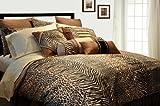 Pointehaven Printed 300 TC 3-Piece 100-Percent Combed Cotton Duvet Set, Urb ....
