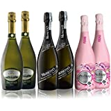 Award-Winning Prosecco Case of 6: Mionetto Extra Dry, Corte delle Calli Extra Dry and Organic Rosé Perlapp