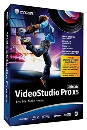 VideoStudio Pro X5 Ultimate (bilingual software) (bilingual software)