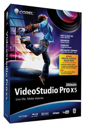 VideoStudio Pro X5 Ultimate [Old Version] (Corel Video Studio Ultimate compare prices)