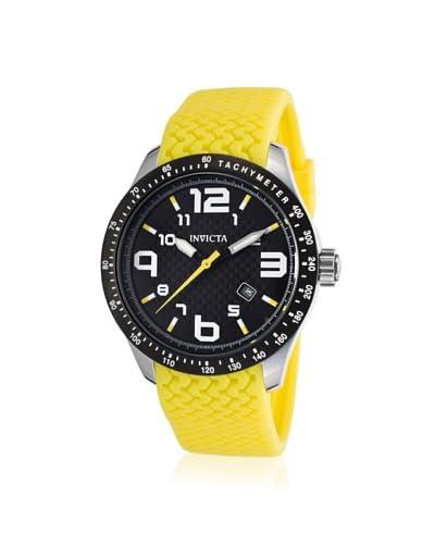 Invicta Men's 16644 BLU Analog Display Japanese Quartz Yellow Watch