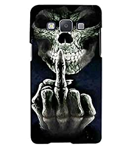 Citydreamz Skull\Horror\Death Hard Polycarbonate Designer Back Case Cover For Samsung Galaxy On7 Pro