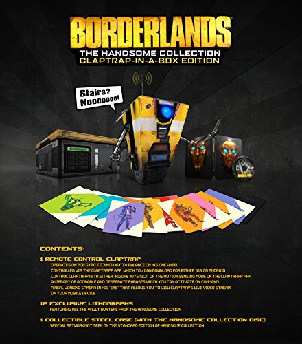Borderlands: The Handsome Collection- Claptrap-in-a-Box