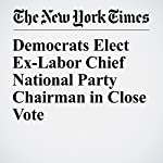 Democrats Elect Ex-Labor Chief National Party Chairman in Close Vote   Jonathan Martin