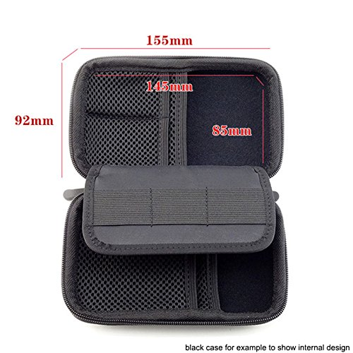 Hesplus anti shock portable eva hard drive carrying case - Antishock porta ...