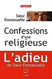 echange, troc Soeur Emmanuelle - Confessions d'une religieuse (grands caractères)